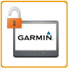Unlock your Garmin Satnav logo